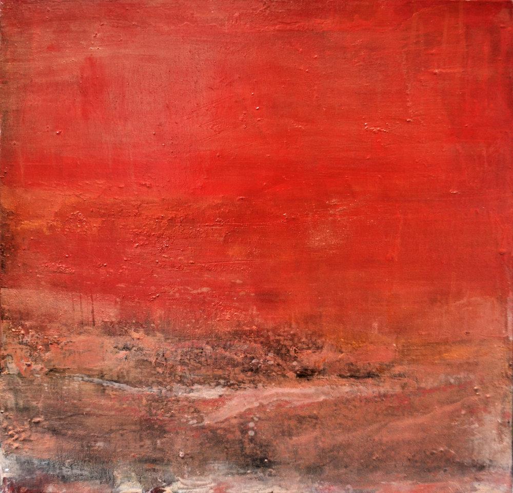 Sea & Setting Suns  Gabriella Lewenz, oils on canvas, 610mm x 610mm  $2,750.00