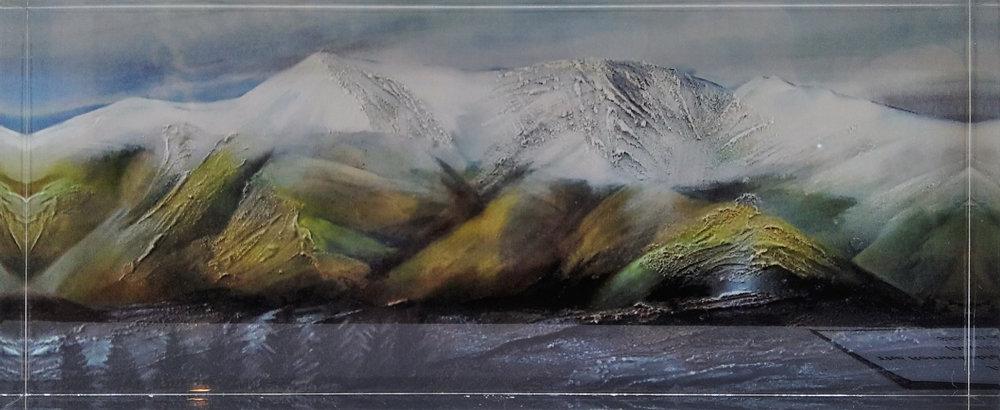 McKenzie Country  Jill Perrott, acrylic blocks, 222mm x 90mm x 20mm  sold