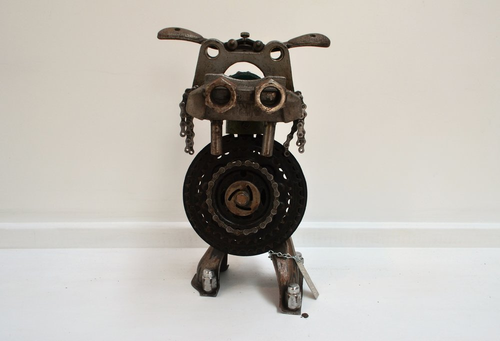 Pumbaa the Warthog  Juunx Art, mixed media sculpture, 250mm x 390mm  $580.00