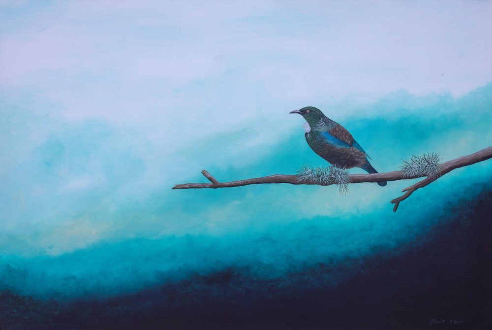 It's Our Journey  Claire Erica, acrylic on canvas, 900mm x 611mm  $2,300.00