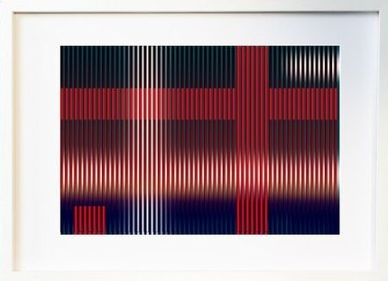 Red Cross  Mark Cowden, limited edition multiplane work #2/10, 640mm x 490mm inc frame  sold