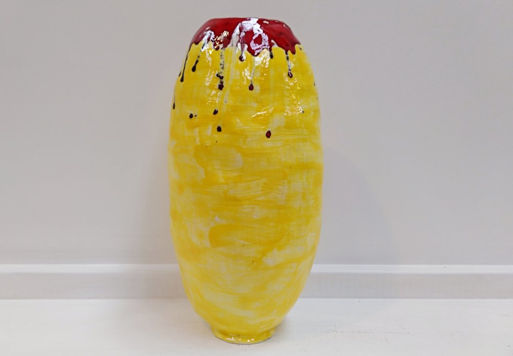 Vessel  Cherrie James, glazed and fired ceramic (external only)  $220.00