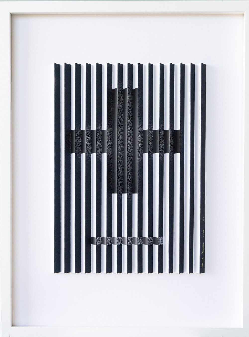 Silver Cross  Mark Cowden, limited edition multiplane work, 490mm x 640mm inc frame  sold