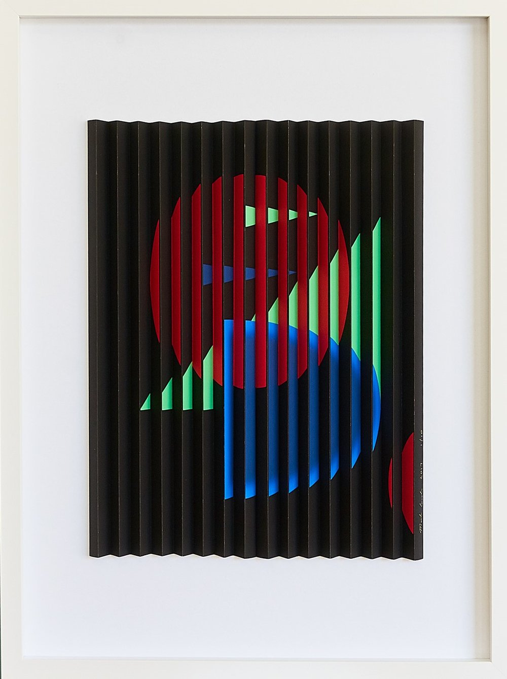 Red Circle  Mark Cowden, limited edition multiplane, #8/10, 800mm x 1000mm (inc. frame)  $3,300.00
