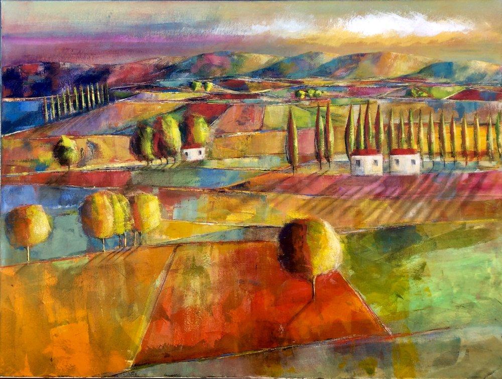 Sunrise Down South Dalene Meiring, oils on canvas, 1225mm x 915mm $4,200.00