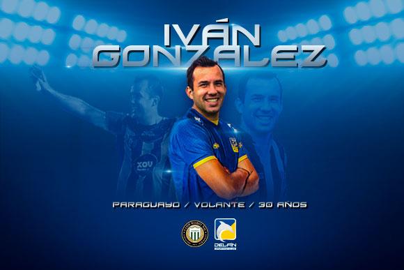 Iván González, mediocampista ofensivo.