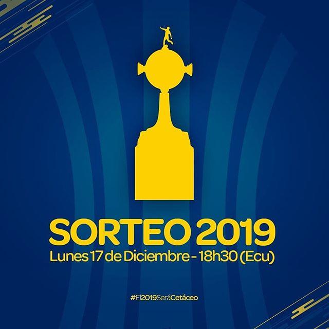 Y así inicia nuestro 2019...💙💛🏆 ¡POR MANTA Y MANABÍ!🐬 #LibertadoresDSC #ElMásGrandeDeManabí