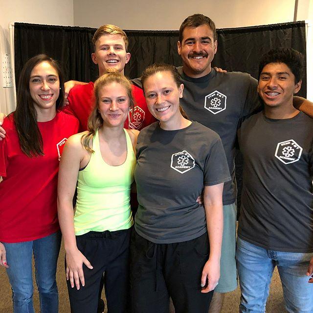 Congratulations Advanced EMT class! Everyone passed today. Good times! | www.uemta.com