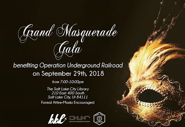 The EMT Academy is proud to be a sponsor of the Grand Masquerade Gala benefiting Operation Underground Railroad. Join us and help support this great organization. See you there! | www.uemta.com