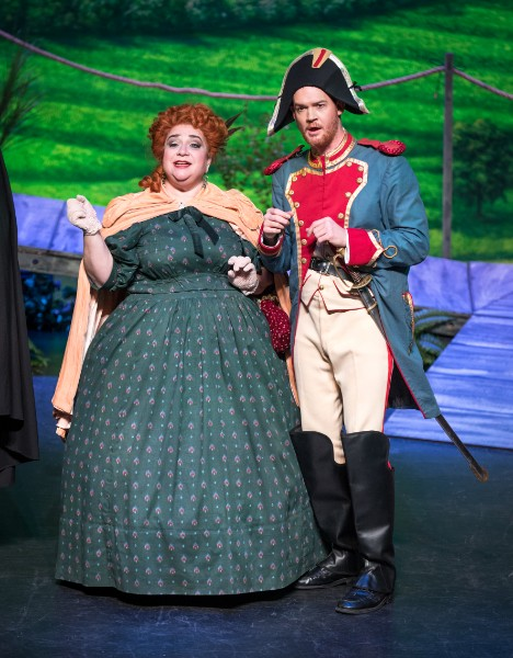 The Marquise de Berkenfield ,  La fille du regiment  (with Joseph Charles Beutel) Intermountain Opera Bozeman, 2017