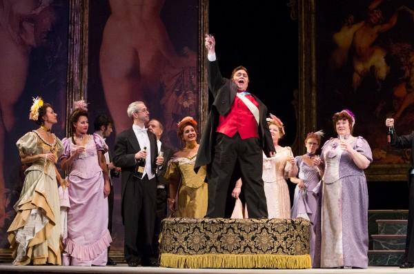 Prince Orlovsky,  Die Fledermaus , Syracuse Opera, 2014
