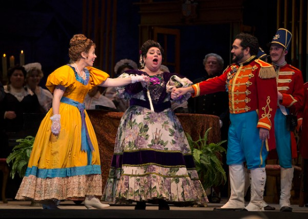 The Marquise de Berkenfield ,  La fille du regiment  (with Rachel Gilmore and Rene Barbera), Austin Opera , 2017
