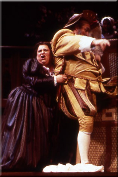 Mistress Quickly ,  Falstaff  (with David Cox), Opera San Jose, 2000