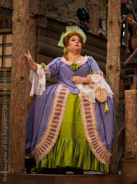The Marquise de Berkenfield ,  La fille du regiment , Mill City Summer Opera , 2015