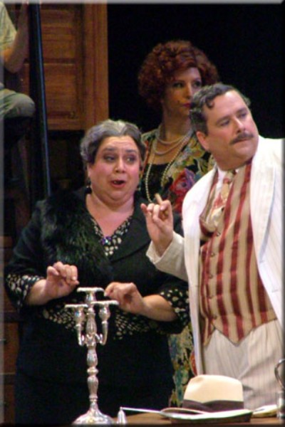 Zita ,  Gianni Schicchi  (with David Small), Opera Santa Barbara, 2006
