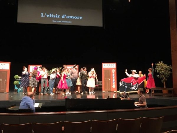 L'elisir d'amore  , Spotlight on Opera, 2017