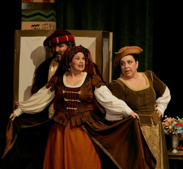 Mistress Quickly ,  Falstaff  (with Leslie Mauldin and Peter Castaldi), Opera Idaho, 2012