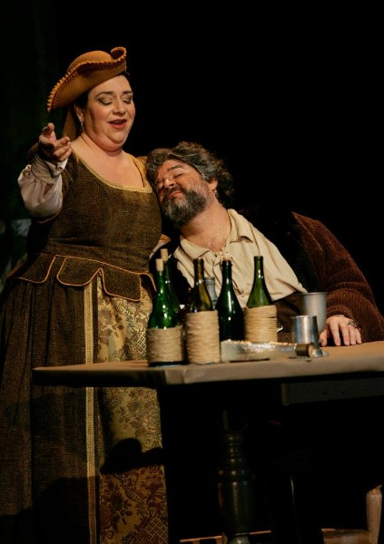 Mistress Quickly ,  Falstaff  (with Peter Castaldi), Opera Idaho, 2012