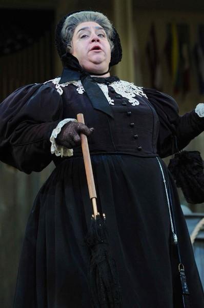 Mrs. Sedley ,  Peter Grimes , Chautauqua Opera, 2013