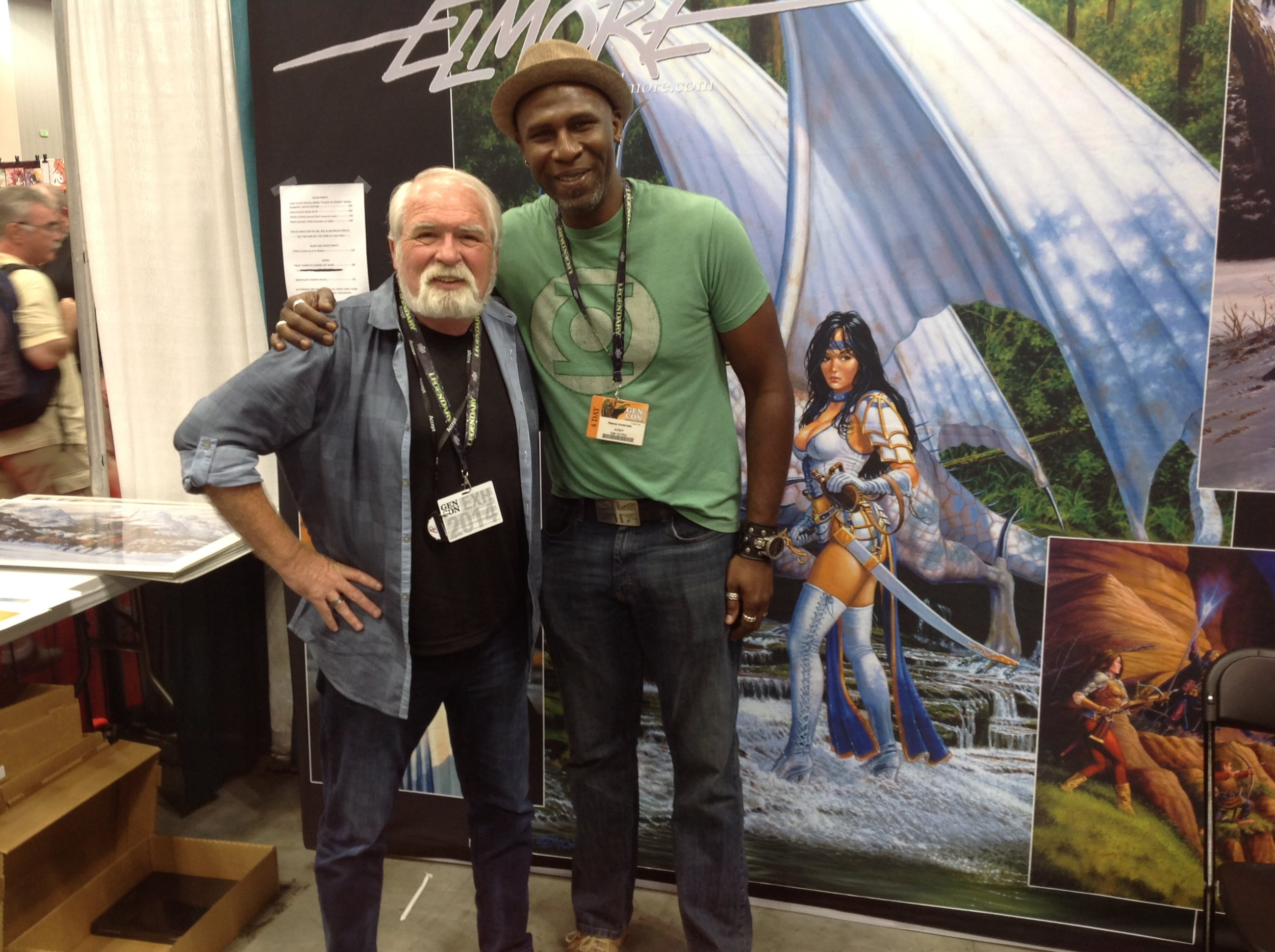 Larry Elmore and me