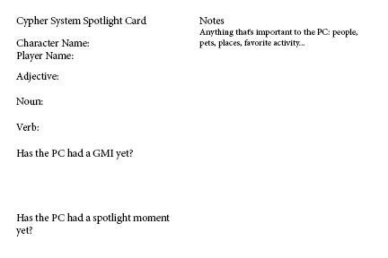 Spotlight Cards