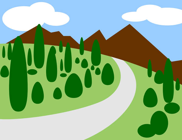 mountain-road-free-clip-art