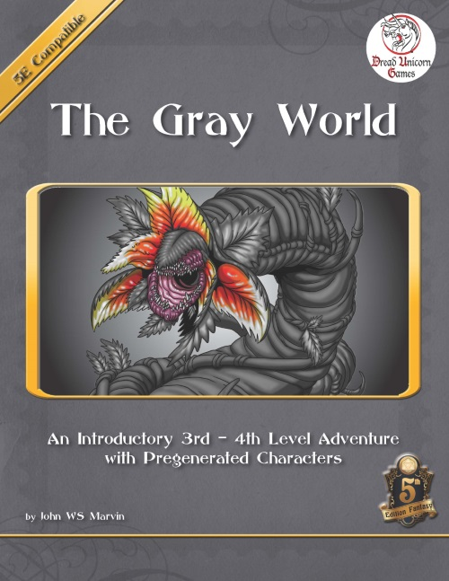 The Gray World - 5E - Adventure - Dread Unicorn Games