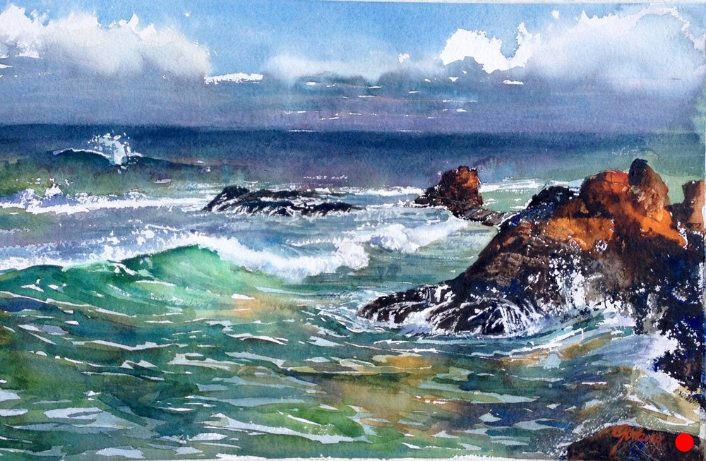 Ft. Bragg Coastline, Sold