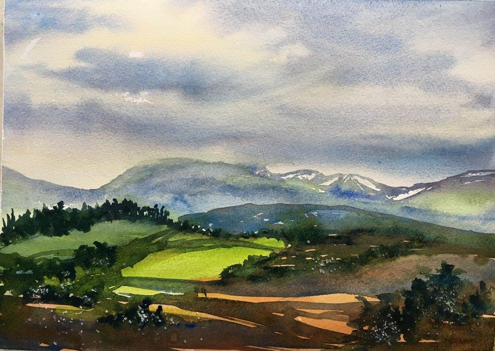 "Scottish Highlands (15""x11"")"