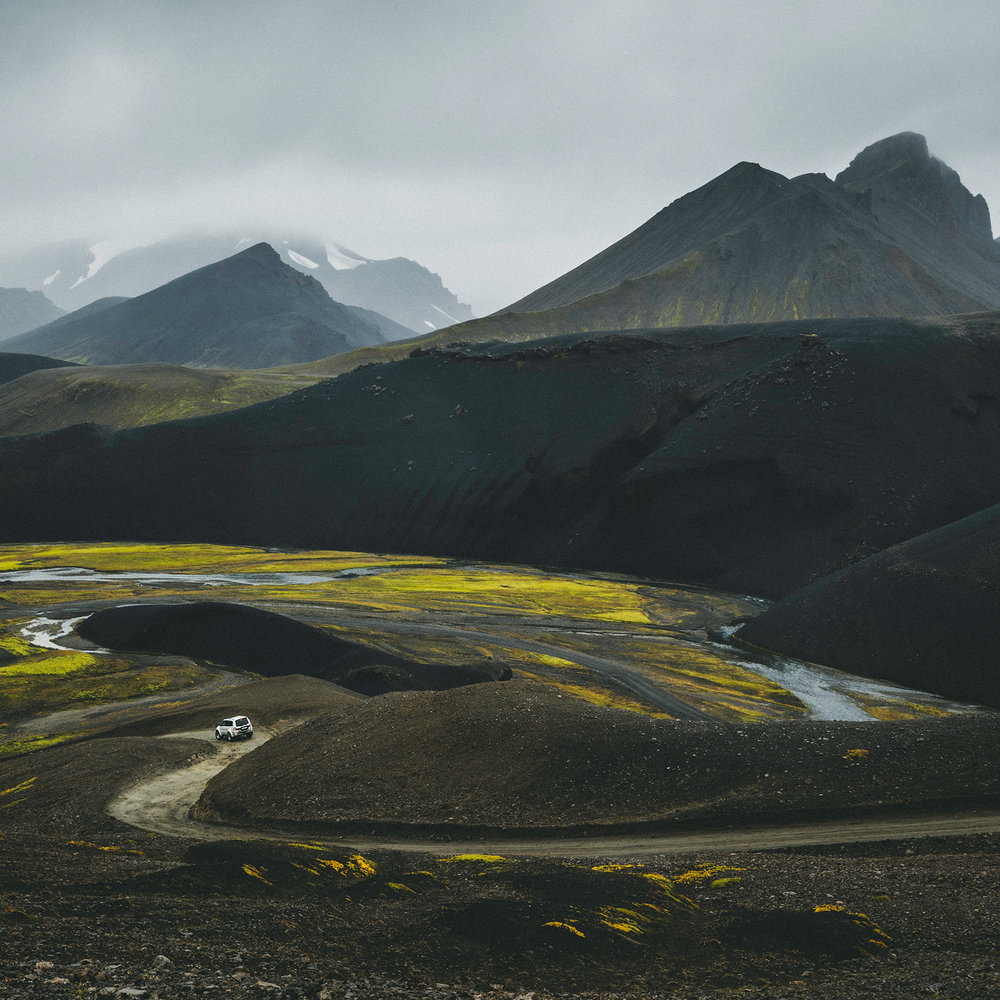 The F208 to Landmannalaugar, probably one of the most beautiful roads in Iceland.
