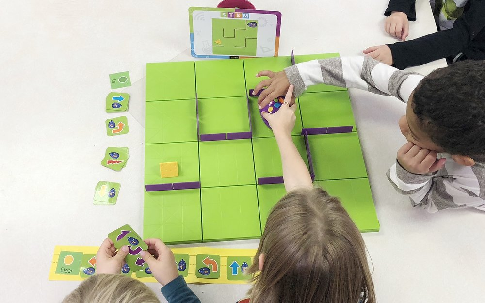 With unplugged coding we can make computational thinking tangible and bring it to life, right in their hands. And it's fun! - Elaine Herzog, Math Specialist + Nicole Putnam, Instructional Technology Specialist at Hanscom Primary School