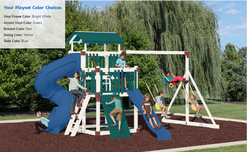 Try Our Color Visualizer - Select Your Best Colors & Order Playsets