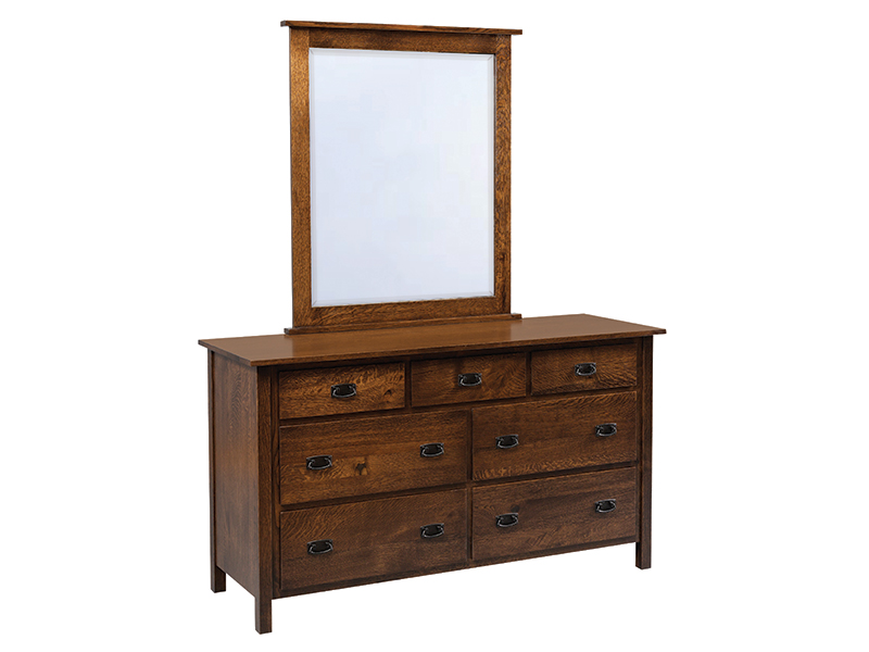Elkins Dresser with Mirror 2