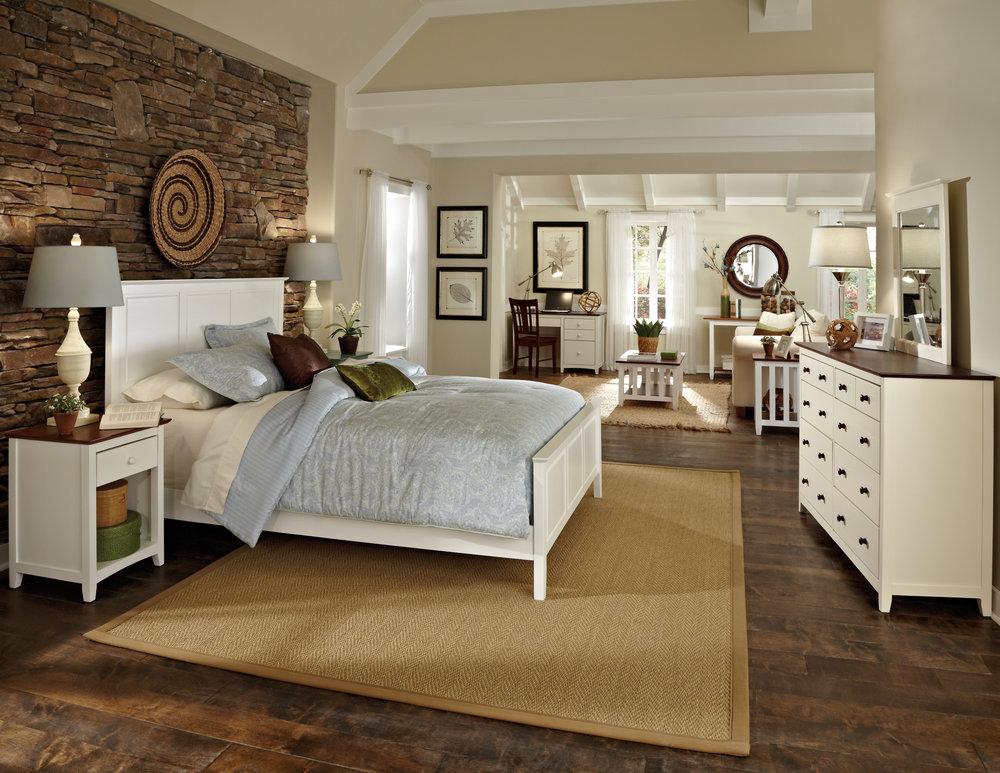 Whitewood White Bedroom
