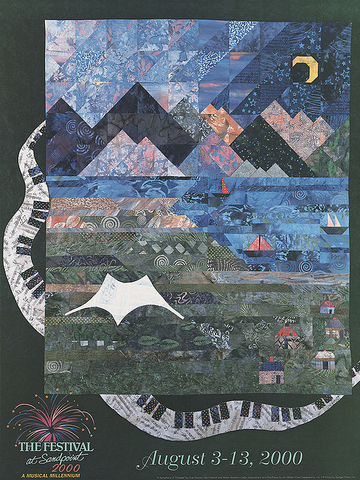 2000 Poster by Sue Graves, Gerri Harvill and Helen Newton