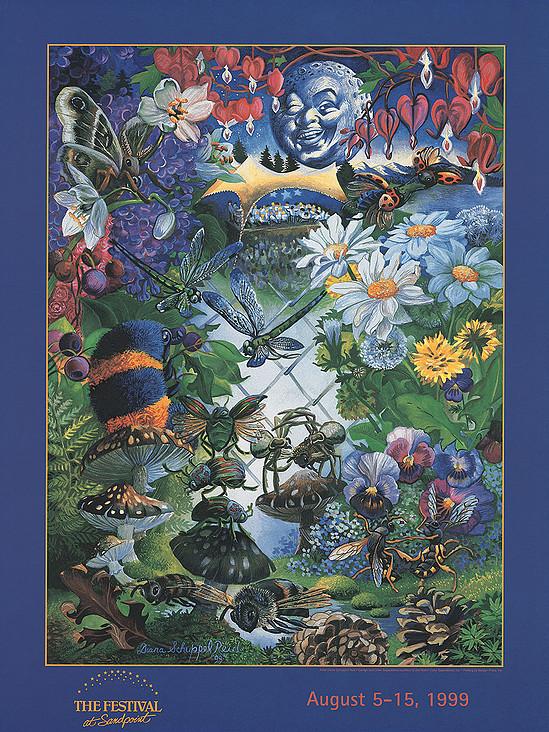 1999 Poster by Diana Schuppel Reid