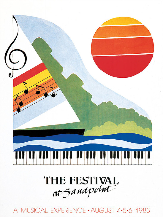 1983 Poster by Paula Youngstrom