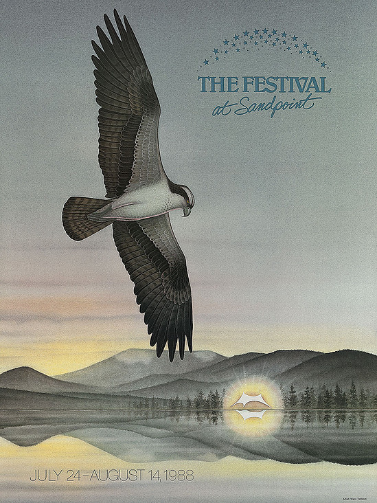 1988 Poster by Ward Tollbom