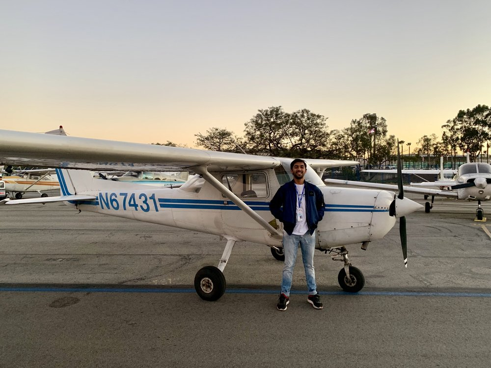Pravesh's First Solo - 11/23/2018