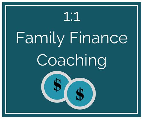 Family Finance Coaching Maryland