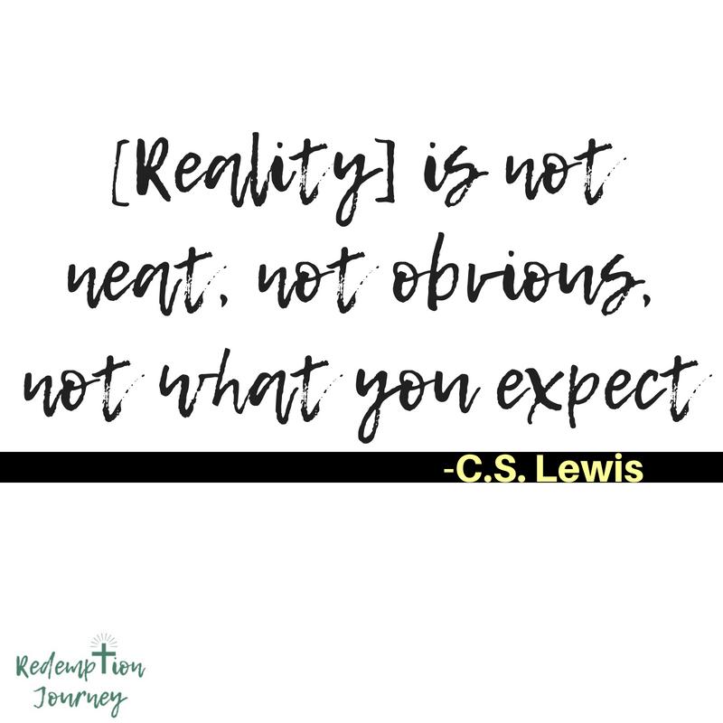 C. S. Lewis Quote