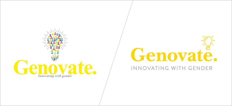 Old logo vs. new brandmark – refined illustration and stronger typography
