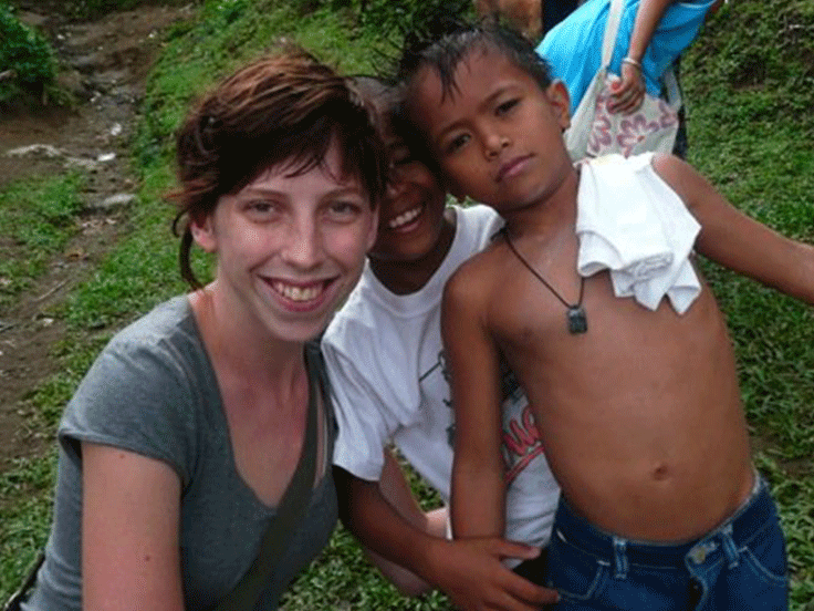 I've always dabbled in philanthropy – my biggest experience was joining Australian Volunteers International after uni in 2007, on a two month eye-opening youth program, working with street kids in the Philippines – my first trip overseas! -