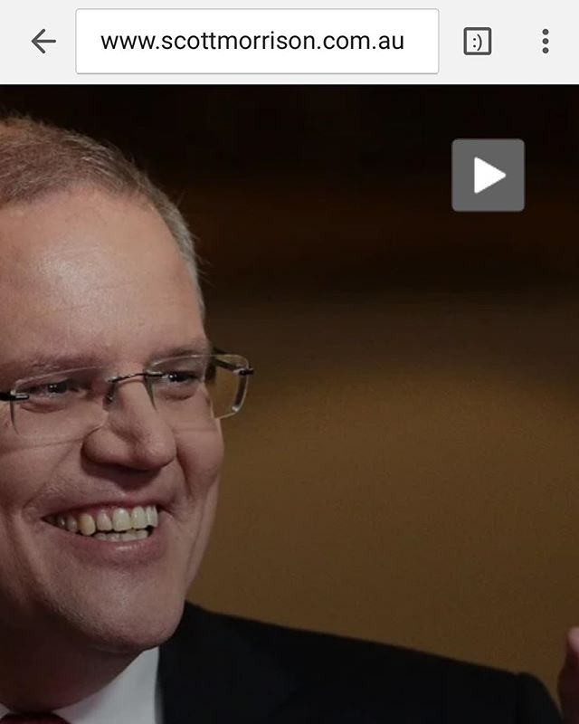 """""""Scotty doesn't know..."""" how to auto-renew his domain name. Best prank I've seen in a long time. Hope the #primeminister has a good sense of humour, because the message is pretty accurate. #australianpolitics #scottydoesntknow"""