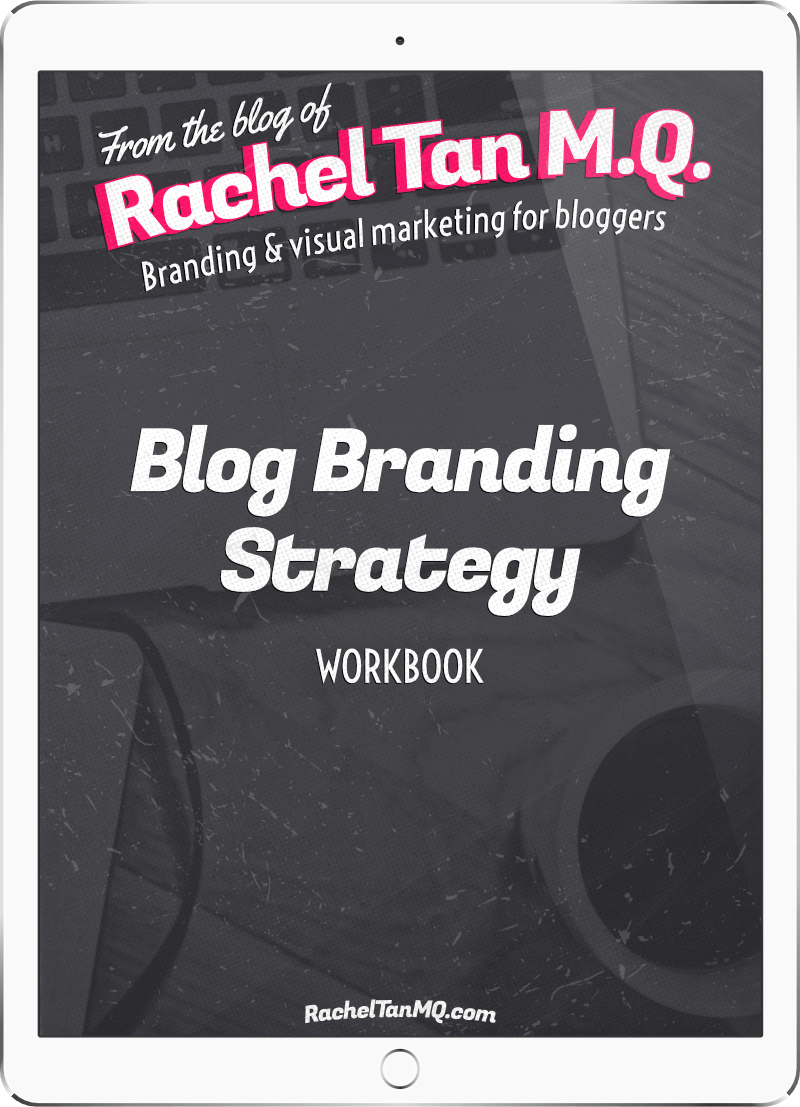 Blog Branding Strategy workbook