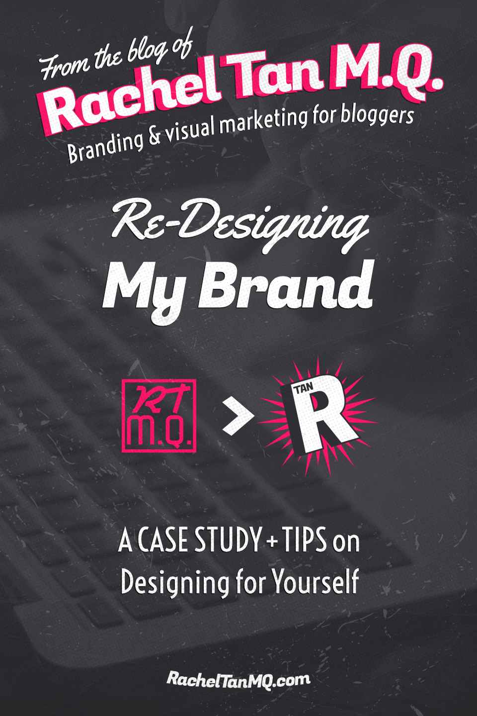 See my whole rebranding process and get tips on DIY-ing your own blog brand design! #branddesign #visualbranding #blogbranding #graphicdesigntips