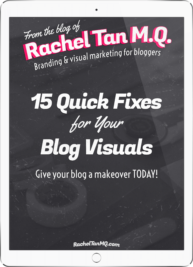 15 Quick Fixes for Your Blog Visuals ebook