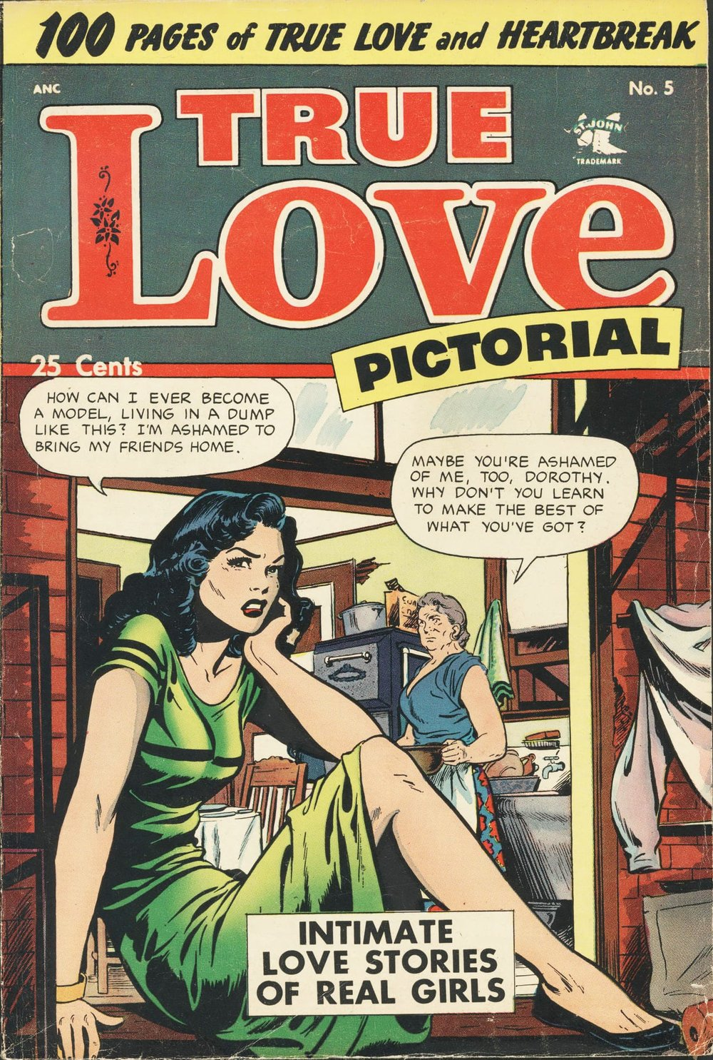 Public domain comic from Digital Comic Museum