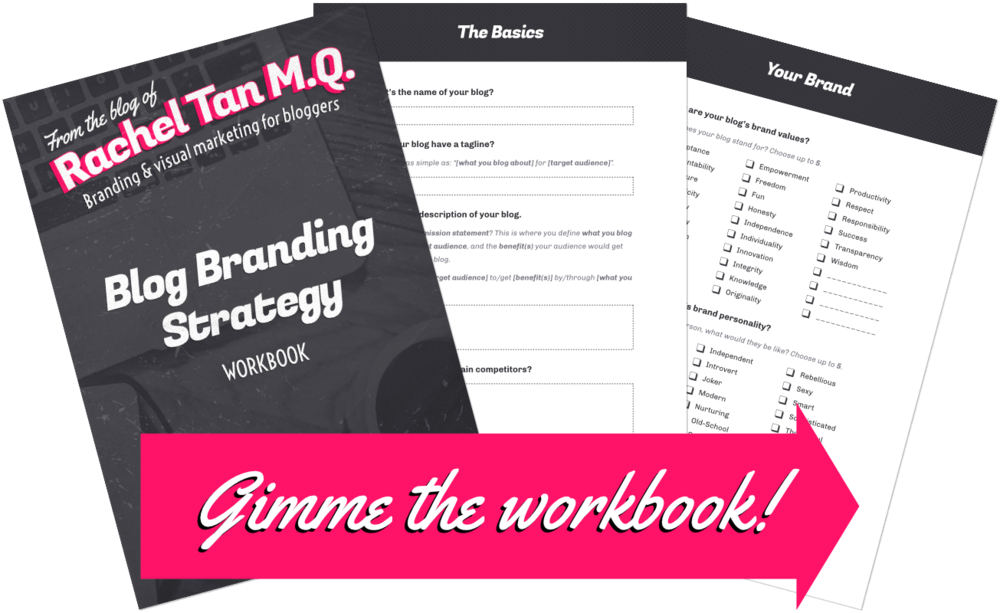 Grab my FREE Blog Branding Strategy workbook and build a solid foundation for your blog!