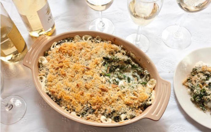 How to Make Your Green Bean Casserole More Gourmet - Brittany Anas ON CHOWHOUND